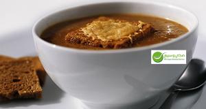 طريقة تحضير حساء البصل
